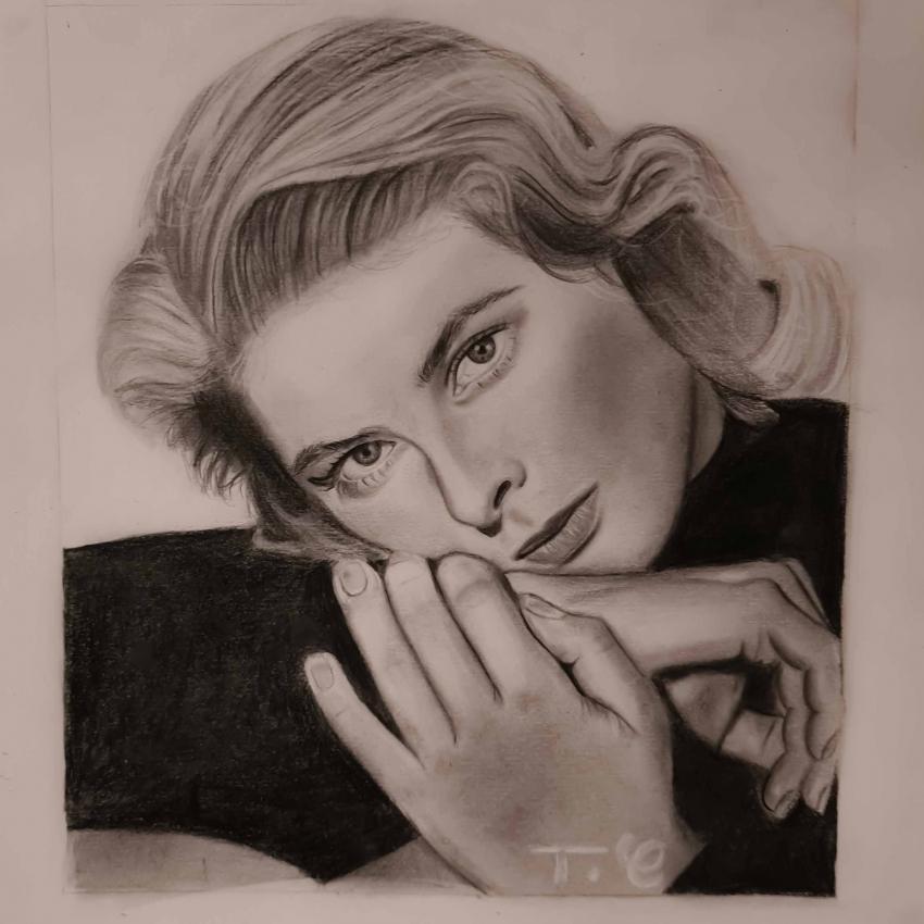 Ingrid Bergman par thomascdraw
